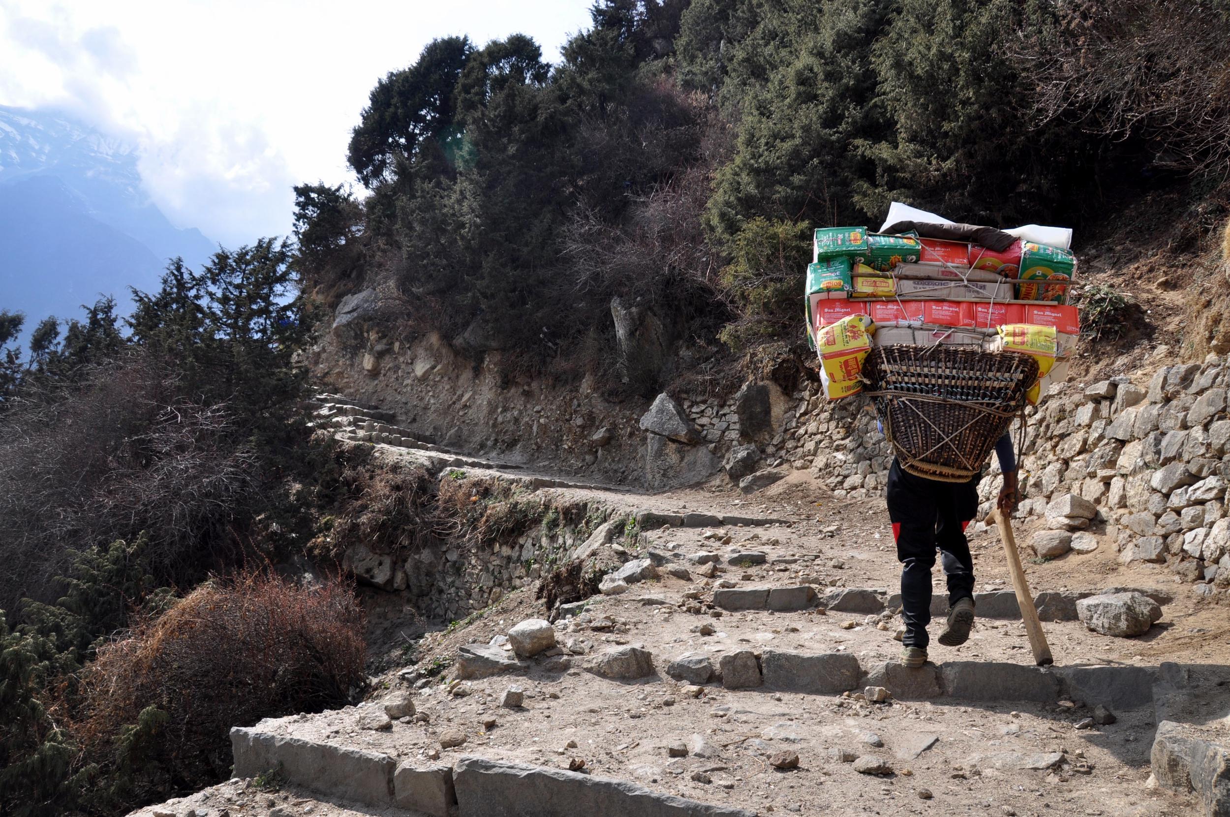 Porter Everest Base Camp Trek