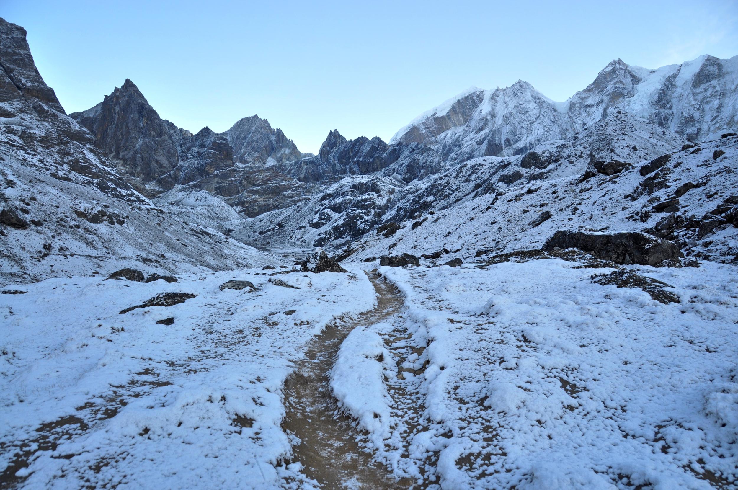 Cho La Pass Gokyo Everest Base Camp trek