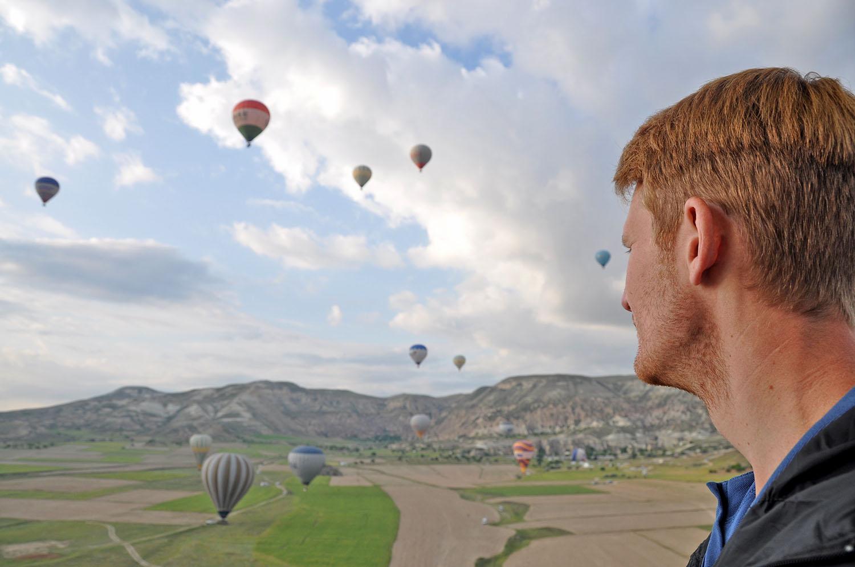 Hot Air Balloon Ride in Cappadocia Turkey with Turkiye Balloons