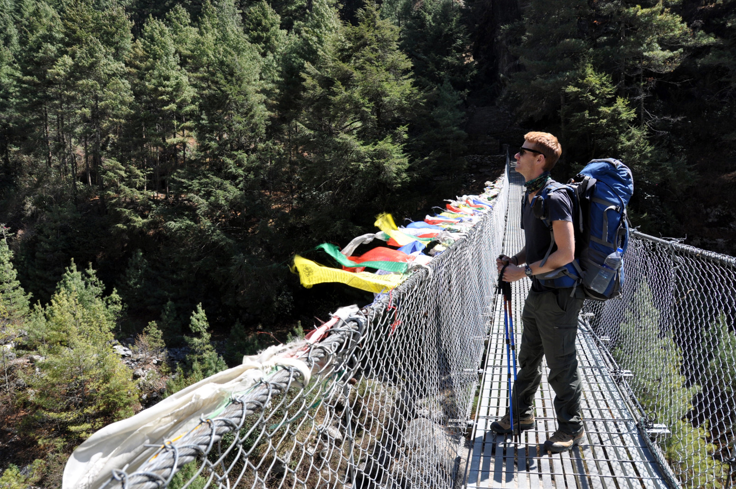 Suspension bridge Perfect Everest Base Camp Trekking Itinerary