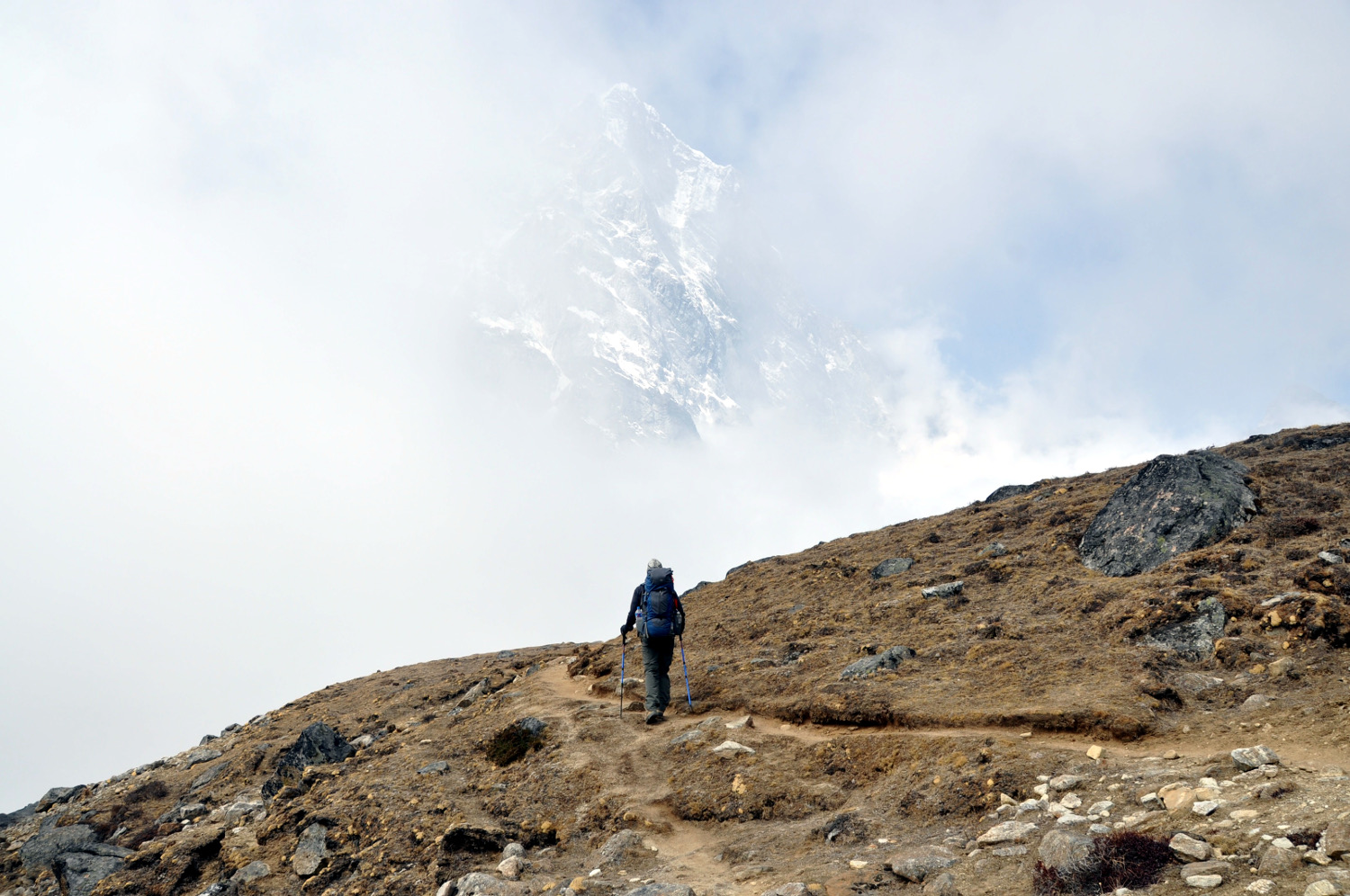 Hiking Cloud Perfect Everest Base Camp Trekking Itinerary