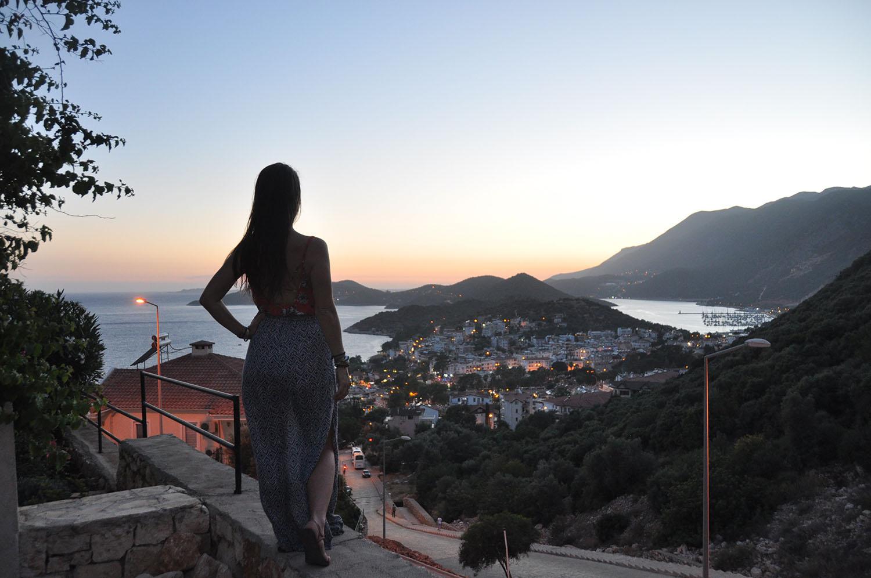 Kas sunset Turkey