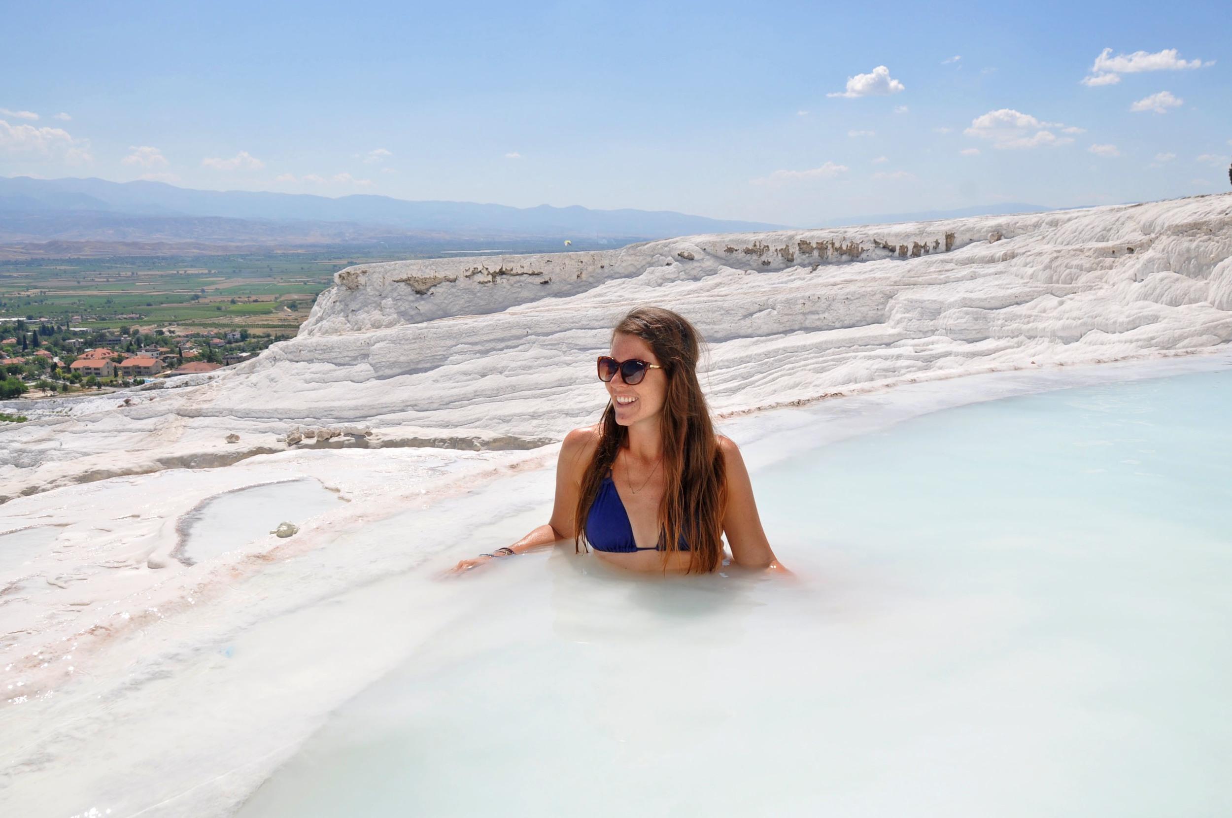 Pamukkale Turkey hot springs