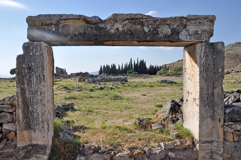 Turkey ancient ruins