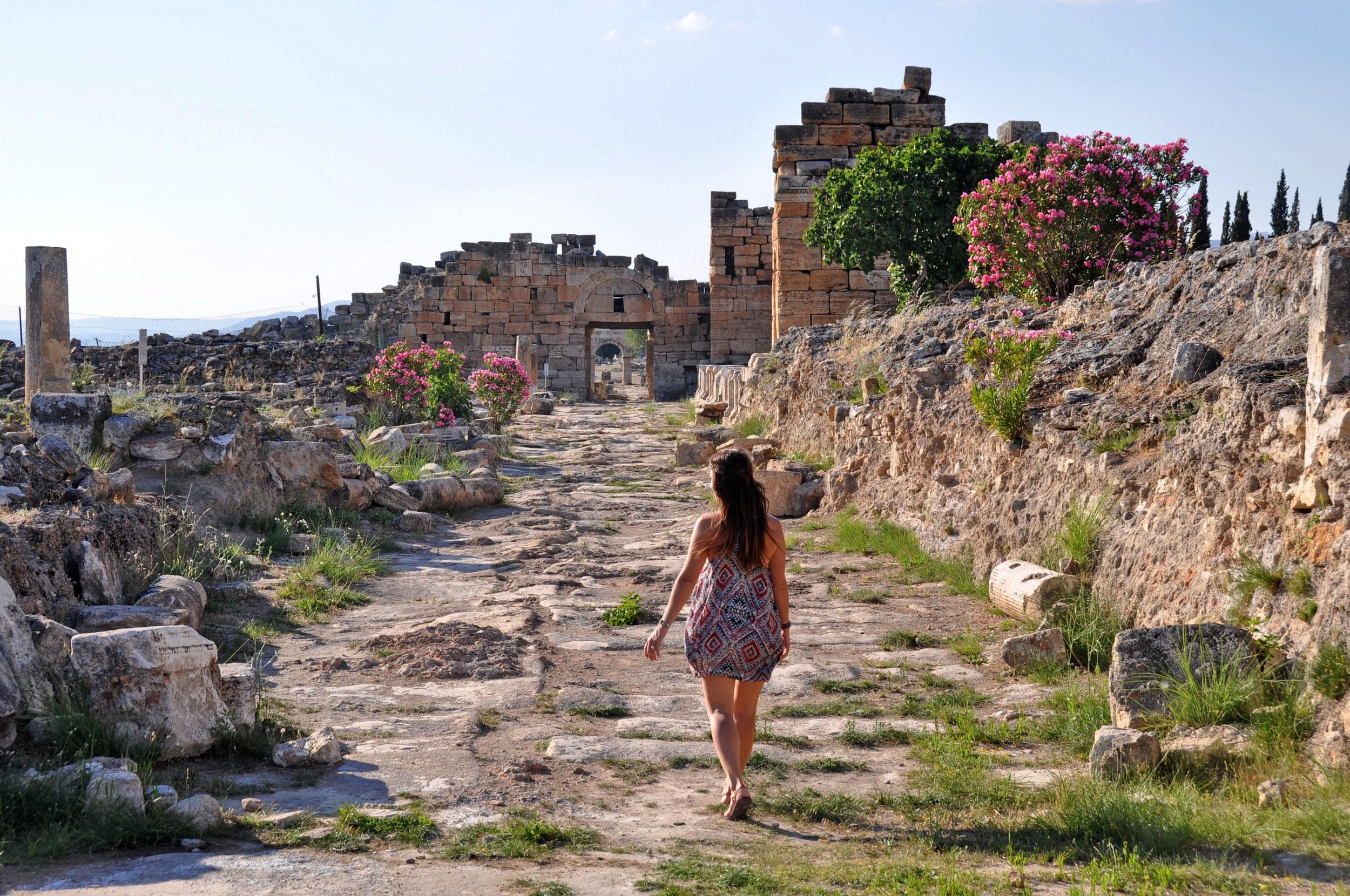Ancient ruins Turkey