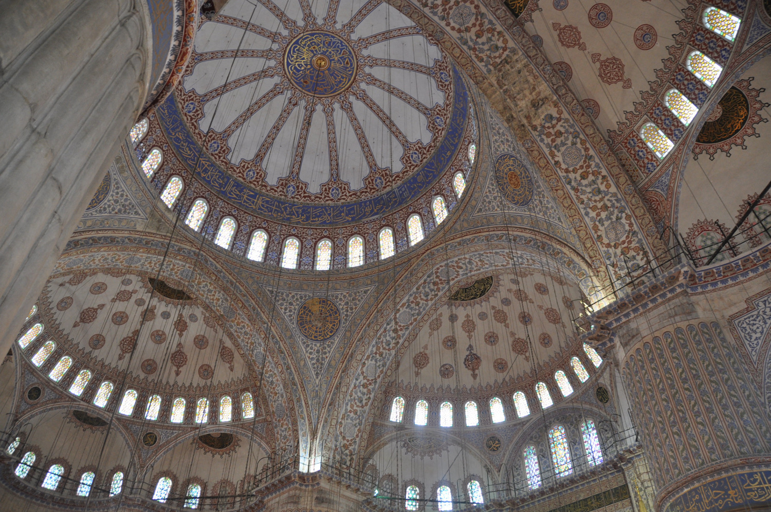 The Blue Mosque is a stunner on the outside as well as the inside!
