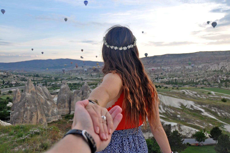 Cappadocia, Turkey hot air balloons