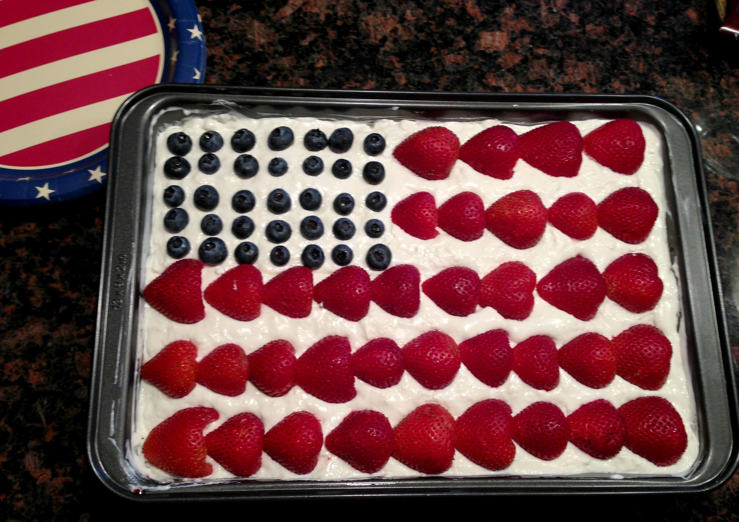 Tastiest American flag I've ever seen!