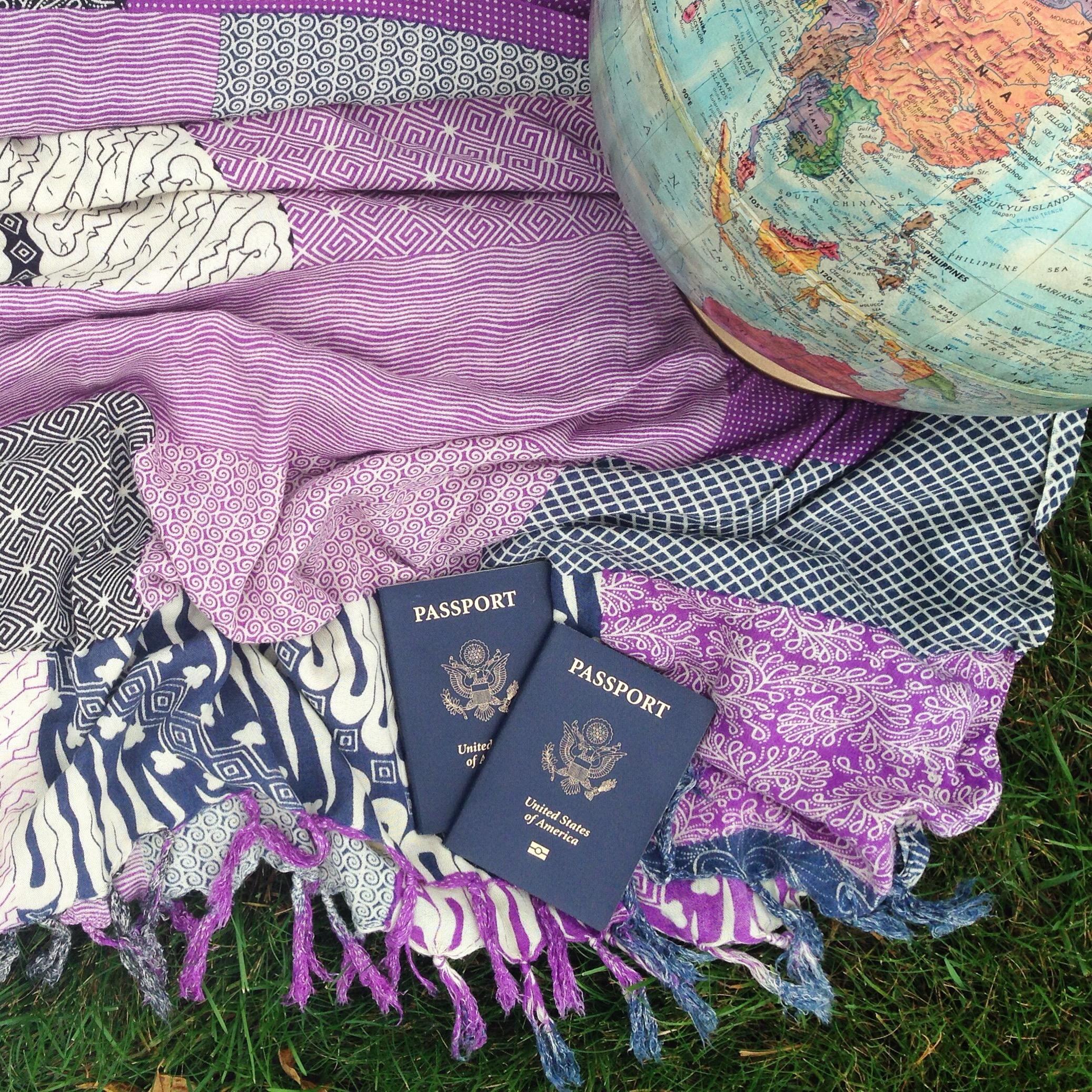 American Passport Traveling as an American