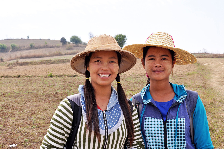 Friendliest People are in Myanmar