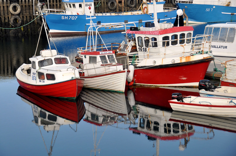 Stykkishólmur Boats Harbor Iceland