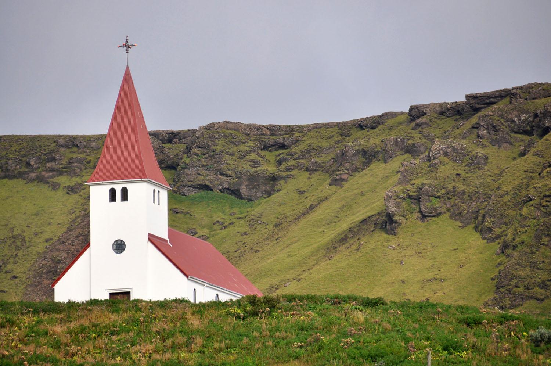 Church in Vik Iceland