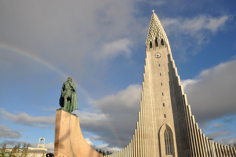 Hallgrímskirkja Reykjavik Church Iceland