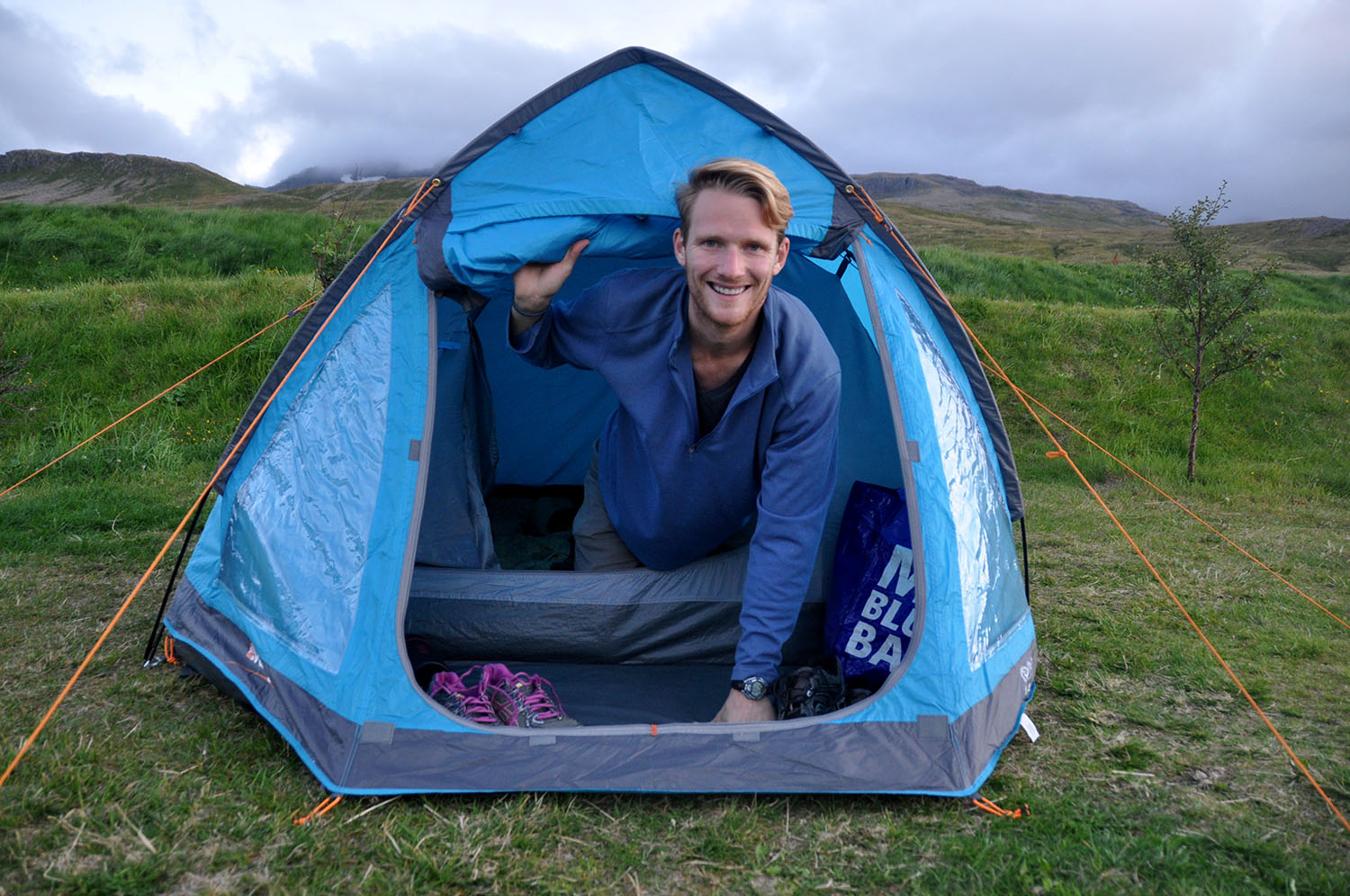 Tent Iceland Camping Equipment