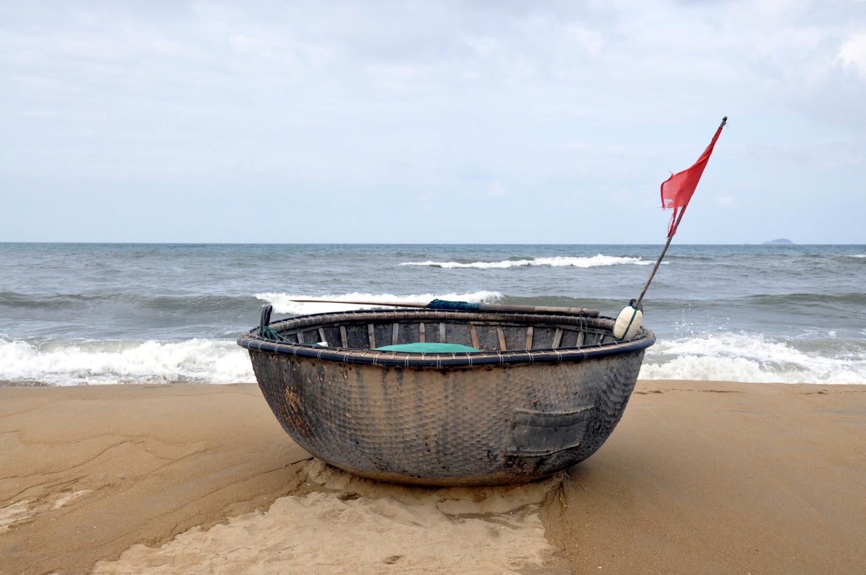 Circle Boat An Bang Beach Hoi An Vietnam