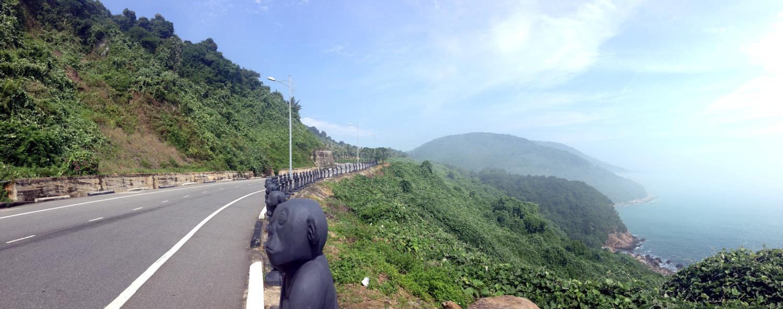 Motorbike Hai Van Highway Hoi An Vietnam