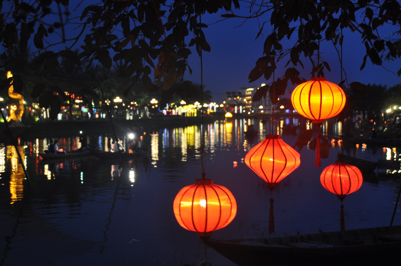 Hoi An Lanterns near River