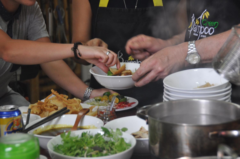 Green Bamboo Cooking School Hoi An Vietnam