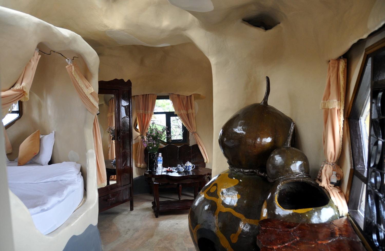 Crazy House Hotel Room Da Lat Vietnam