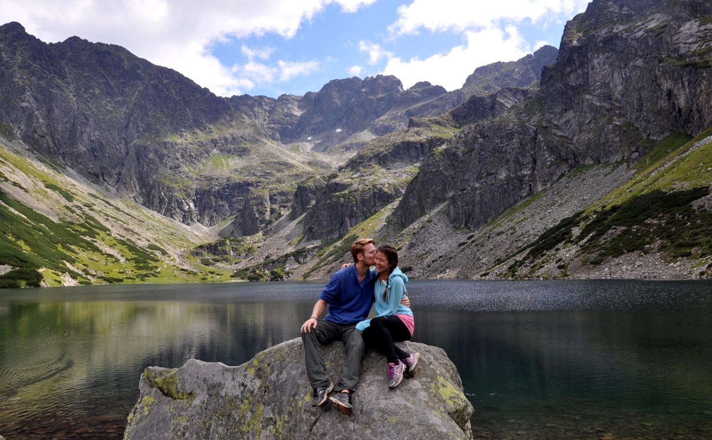 Zakopane Lake Traveling with a Girl