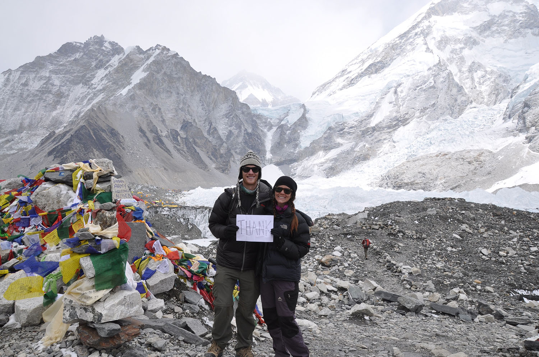 Everest Base Camp Thank You