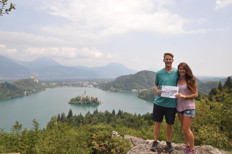 Lake Bled Slovenia Thank You