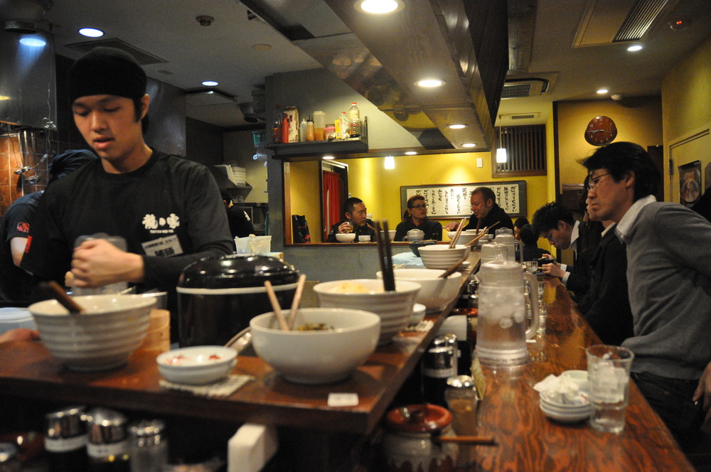 Ramen Noodles Shop Japan