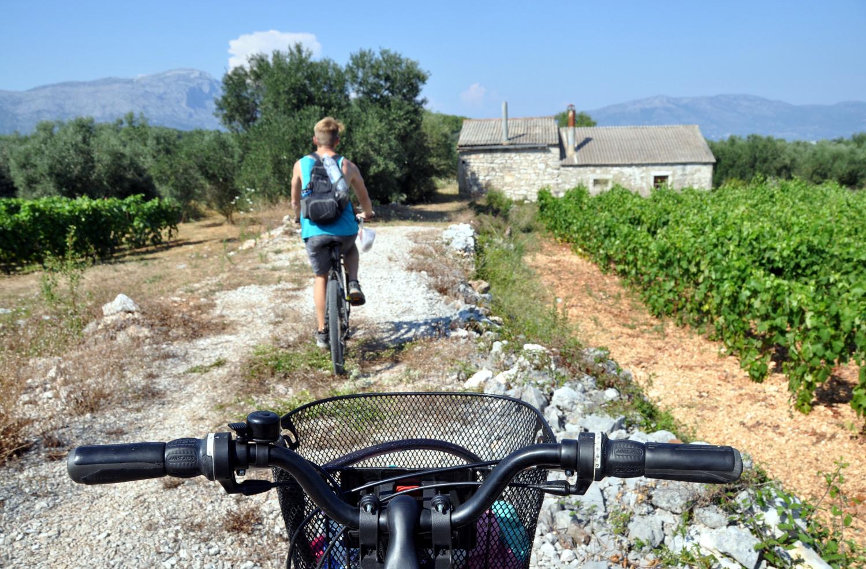 Korčula Island Croatia bike Eastern Europe Highlights