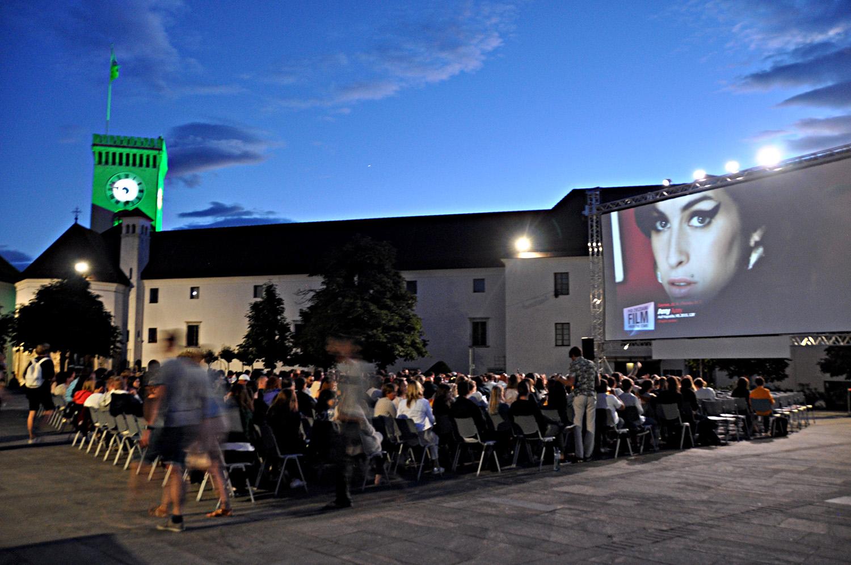 Castle Movie Ljubljana Slovenia Eastern Europe Highlights