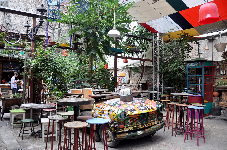 Szimpla Kert Ruin Pub Budapest Eastern Europe Highlight