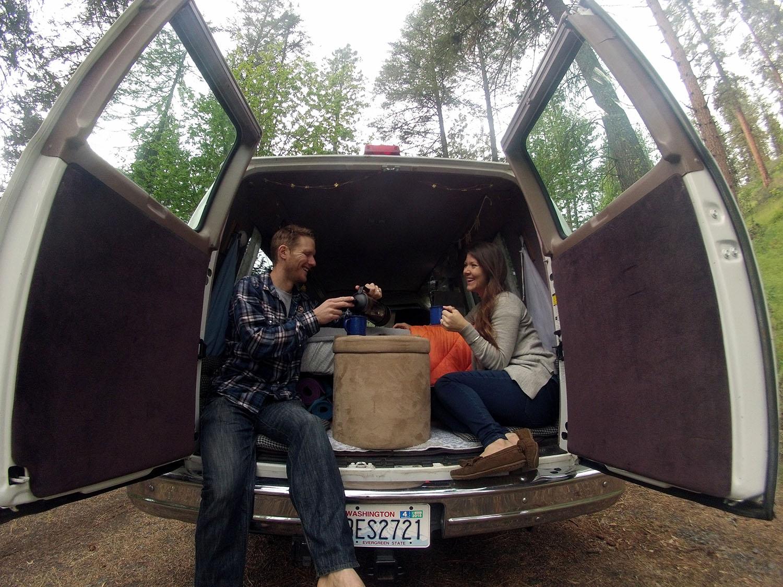 Camper Van Conversion Tour