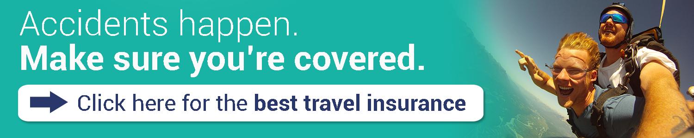 Travel Insurance Skydiving