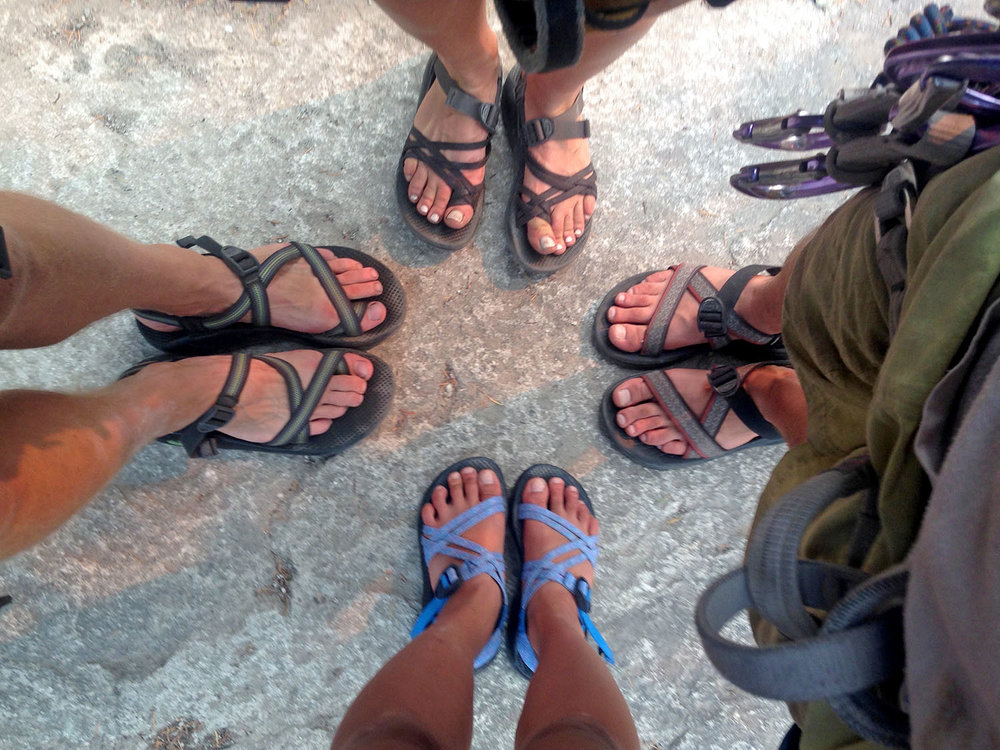 Chaco Hiking Sandals