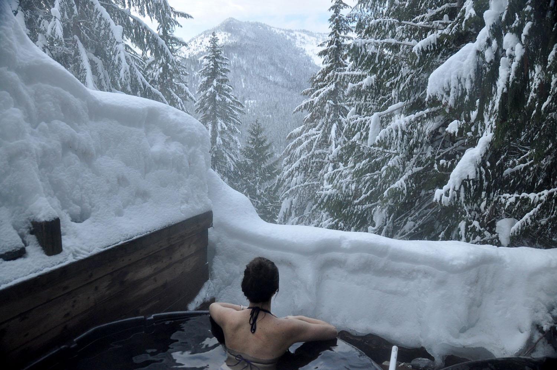Scenic Hot Springs Stevens Pass