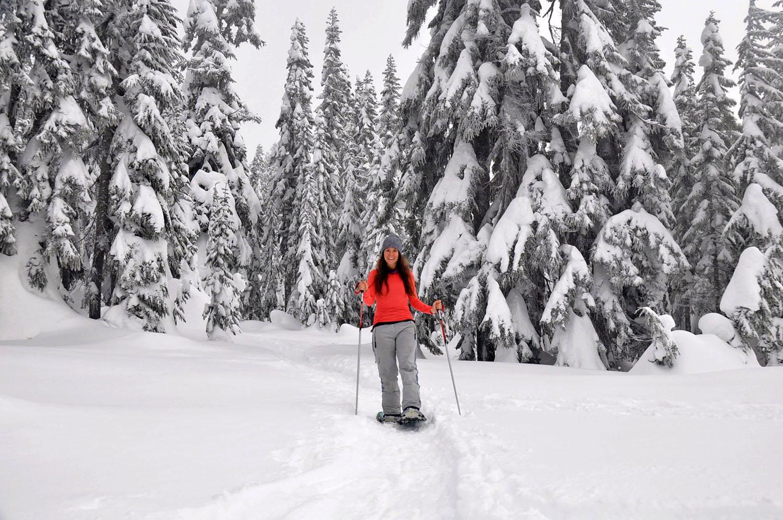 Snowshoeing Leavenworth