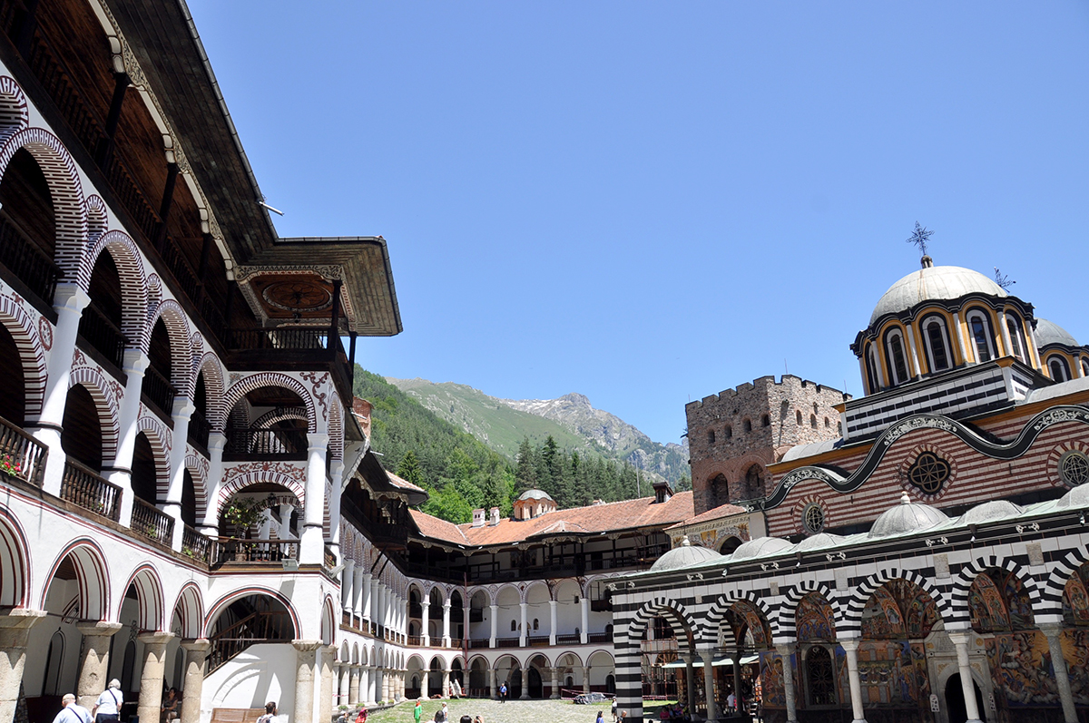 Rila Monastery Bulgaria Travel