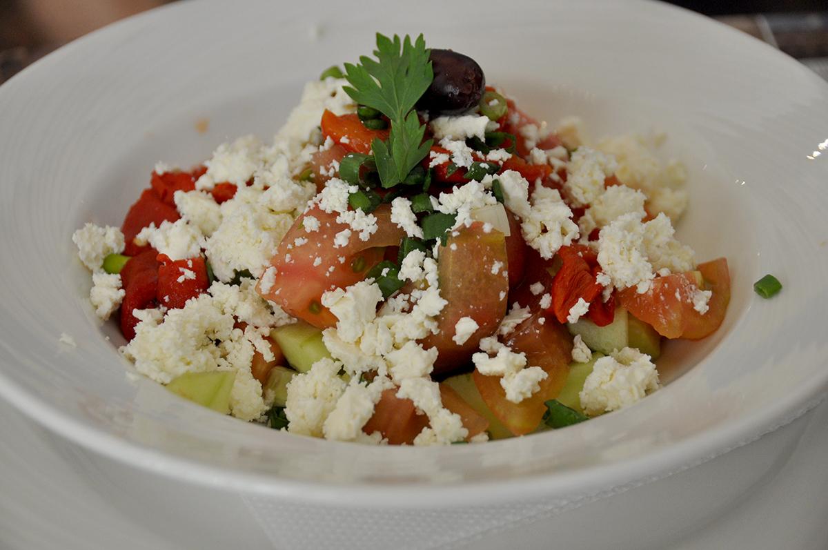 Shopska Salad Bulgaria National Dish