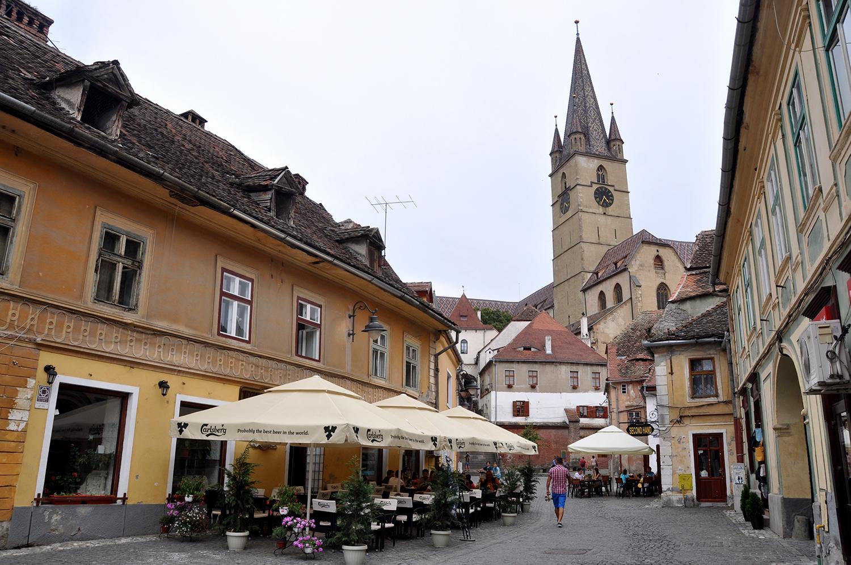 Sibiu Romania Buildings