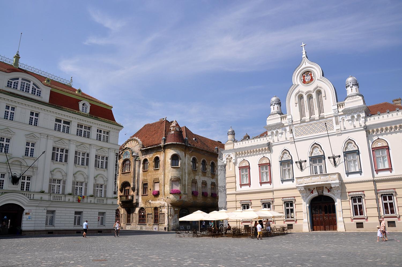 Piata Unirii Timisoara Romania