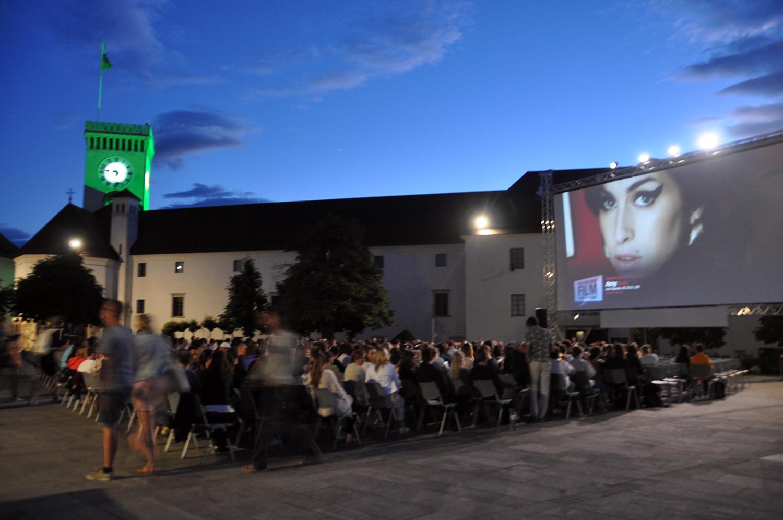 Movies under the Stars Ljubljana Castle Slovenia Travel
