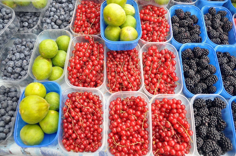 Fruit Farmers Market Ljubljana Slovenia Travel