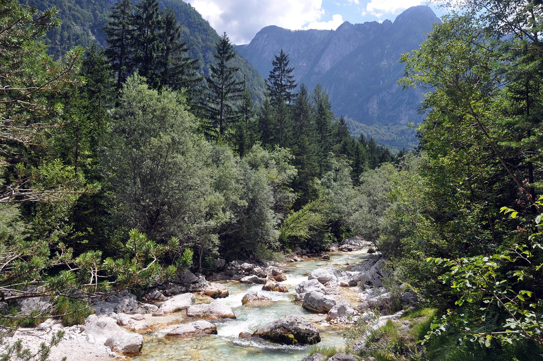 Hiking in Bovec Slovenia Travel