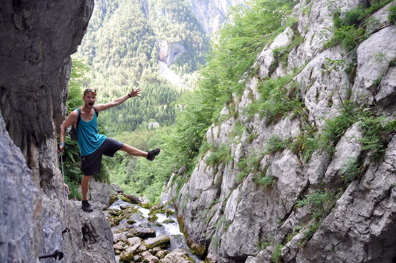 Mlinarica Gorge Bovec Slovenia Travel