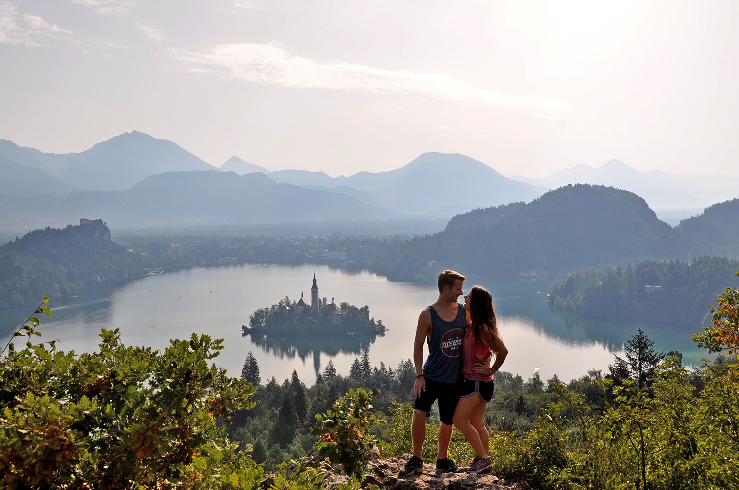 Lake Bled Ojstrica viewpoint Bled Slovenia Travel