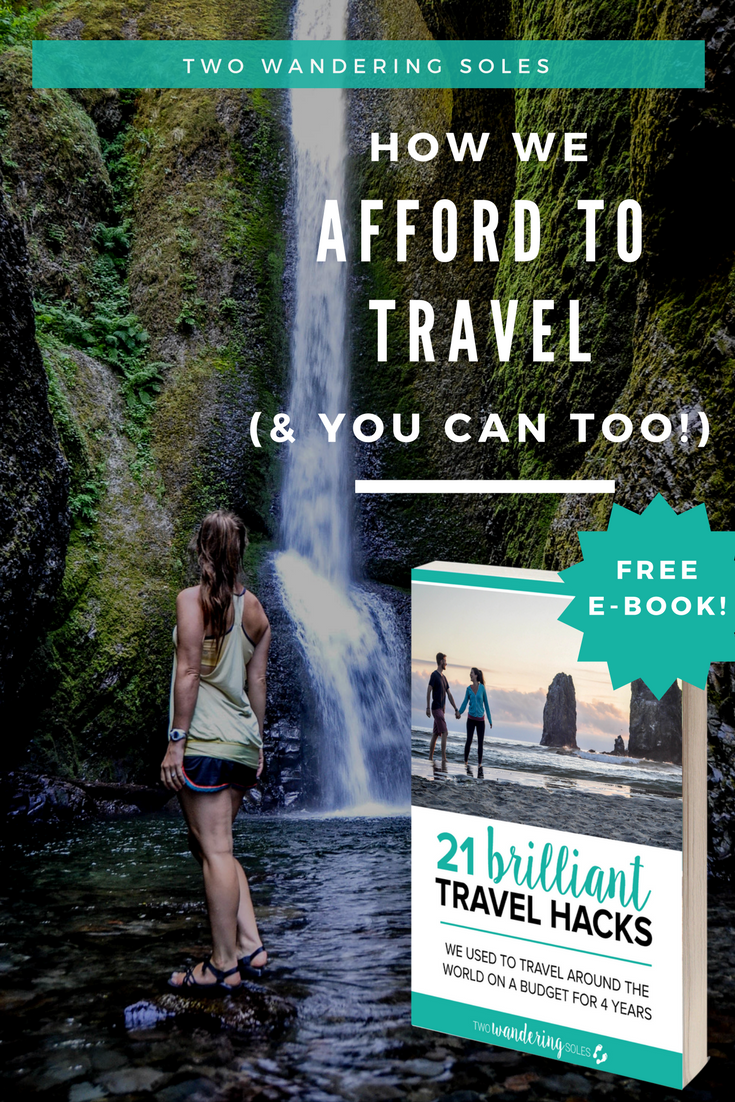 How We Afford to Travel the World (& You Can Too!)