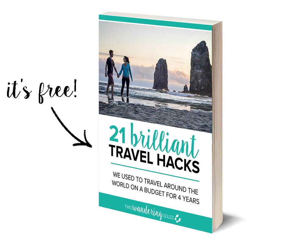 Budget Travel 21 Brilliant Travel Hacks e-Book