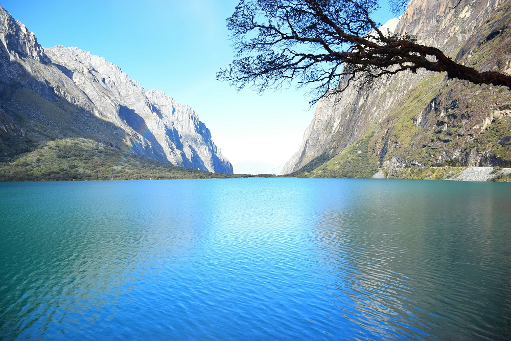 Cordillera Blanca Peru National Park Laguna