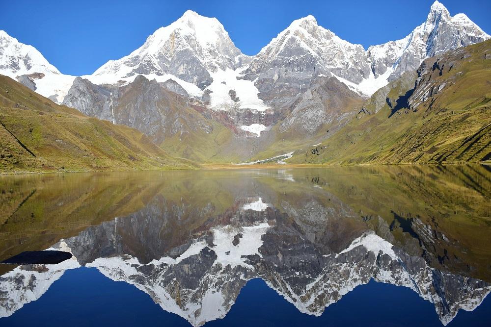 Cordillera Blanca Peru Huayhuash Trek