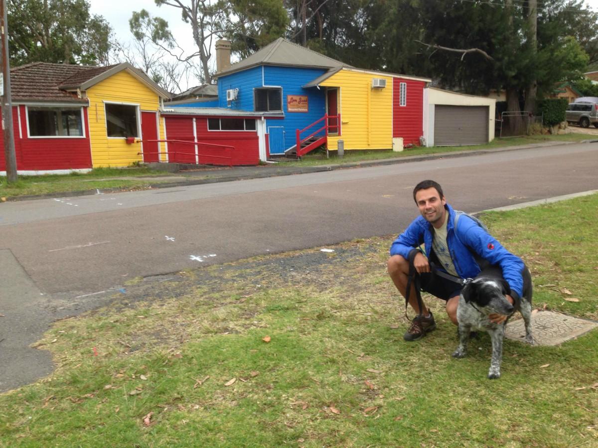 Reason for Housesitting Around the World Walking the Dog