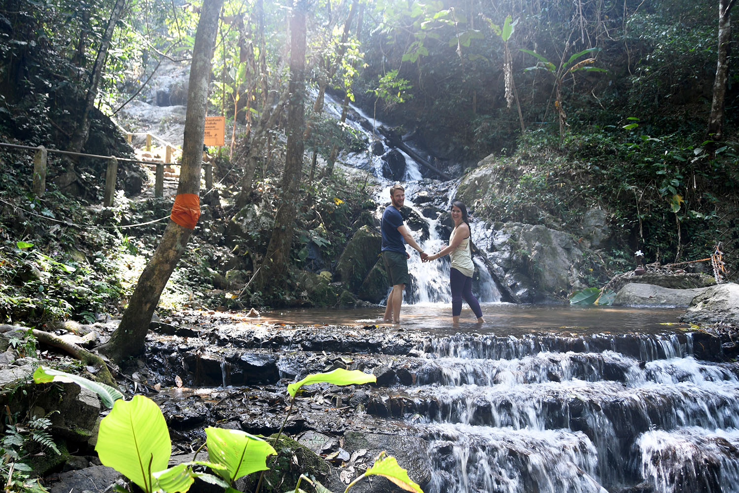 Mae Kampong Waterfall Off the beaten Path Day Trip from Chiang Mai Thailand
